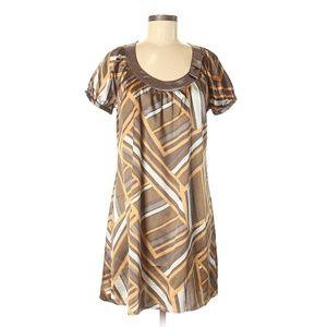 BCBGMAXAZRIA Casual Boho Style Shift Dress